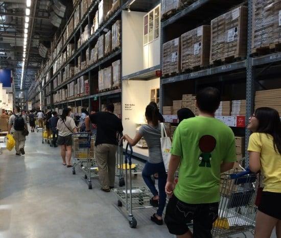 IKEA queue