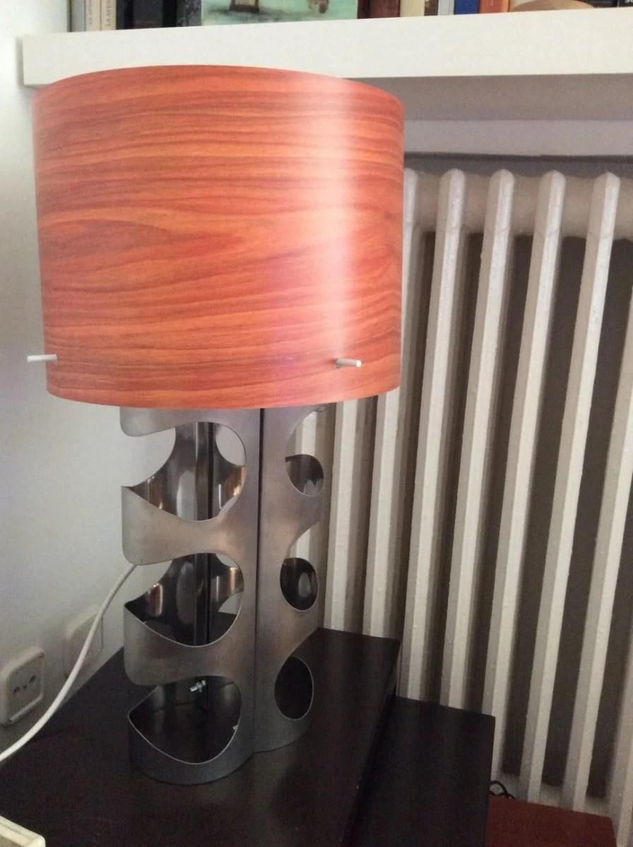 lamp base vurm wine rack