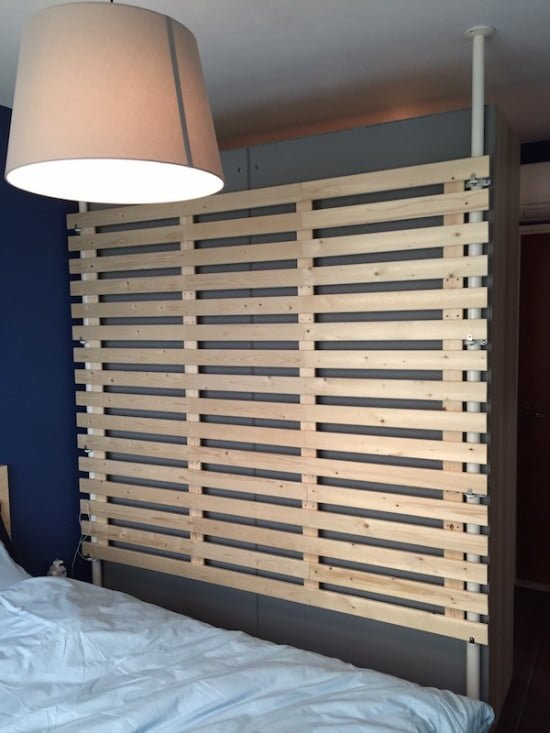 Room Dividers Ideas Ikea: Multi-purpose Wooden Partition From STOLMEN And LADE