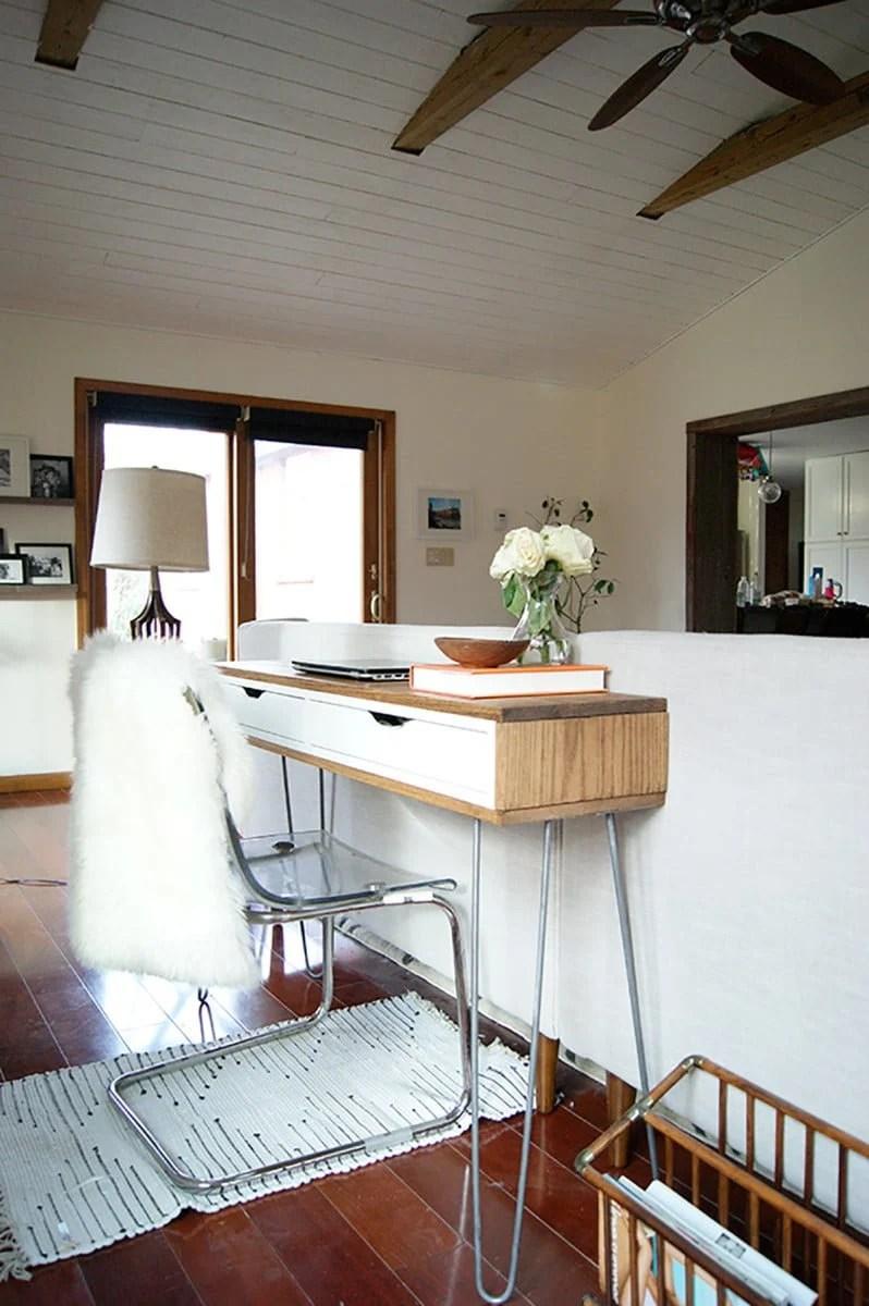 Diy Ikea Alex Desk