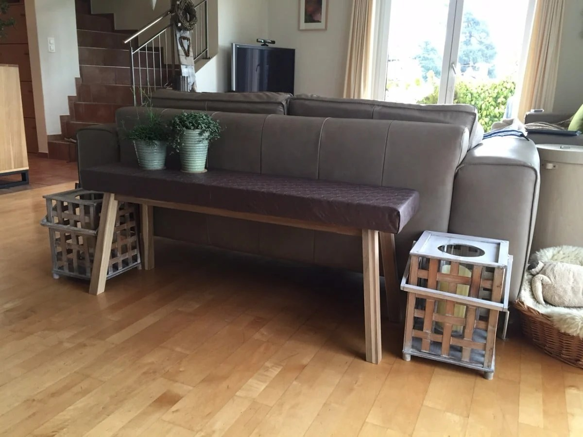 ikea skogsta from bench to narrow console table ikea hackers. Black Bedroom Furniture Sets. Home Design Ideas