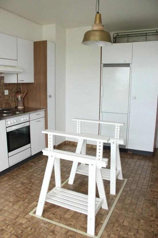 IKEA FINNVARD kitchen island