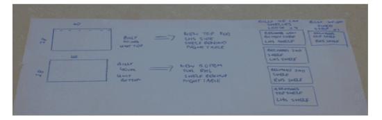 Malm Bil Bed Head 40cm Shelving Diagram Image 3
