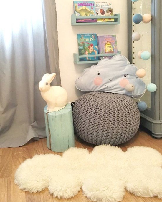 Your very own cloud sheep rug
