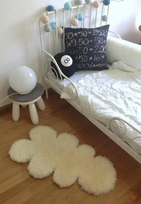 Easy Diy Cloud Sheep Rug Ikea Hackers