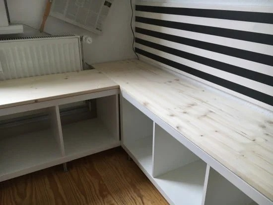 Cut shelves to fit