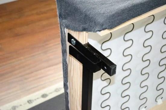 IKEA KIVIK metal leg