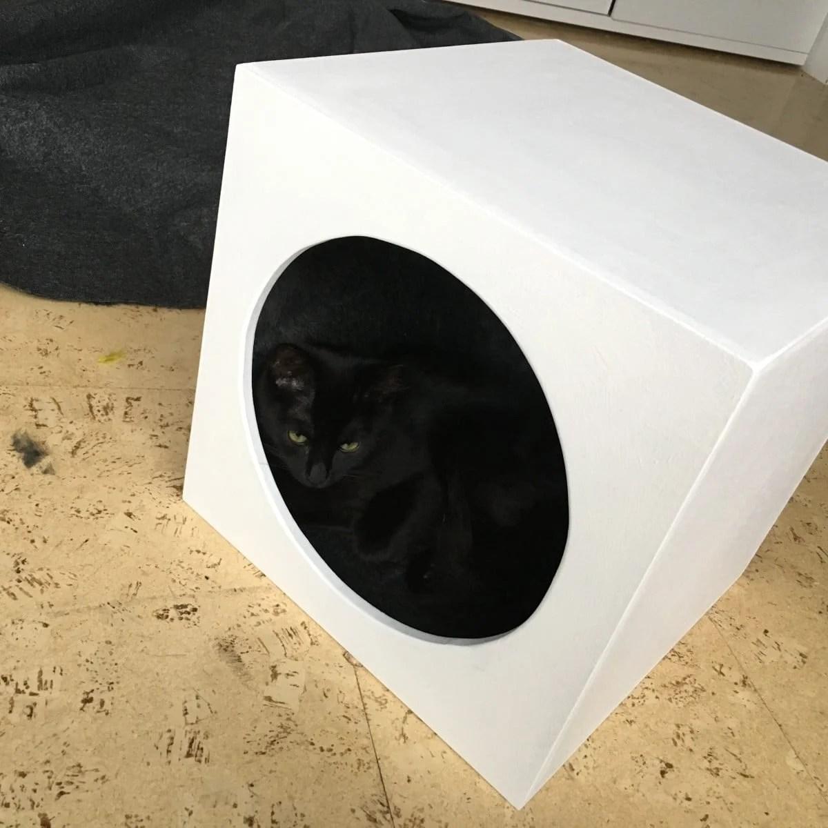 Cat Cave Insert For Expedit Kallax Ikea Hackers