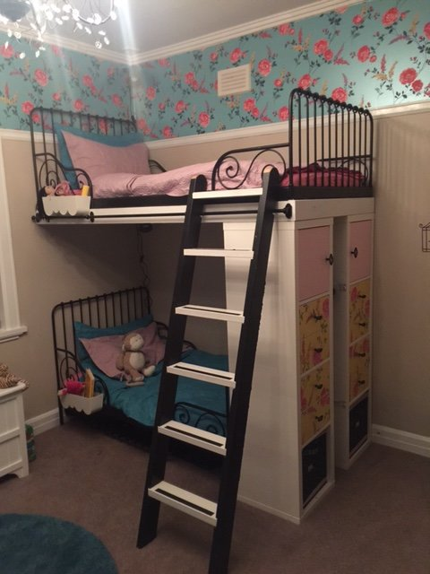 Ikea Minnen Single Beds Into Bunk Beds With Extras Ikea