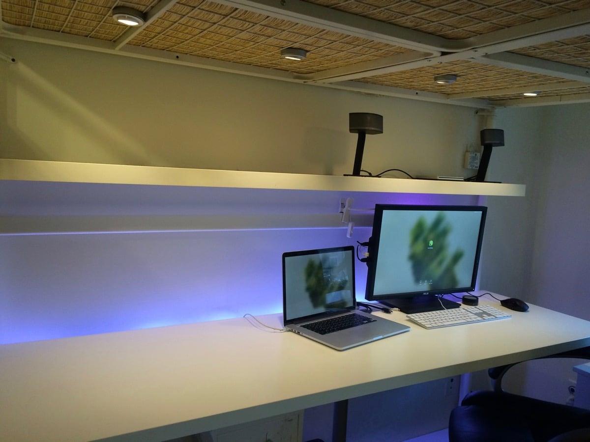 troms sleep work play fortress ikea hackers. Black Bedroom Furniture Sets. Home Design Ideas