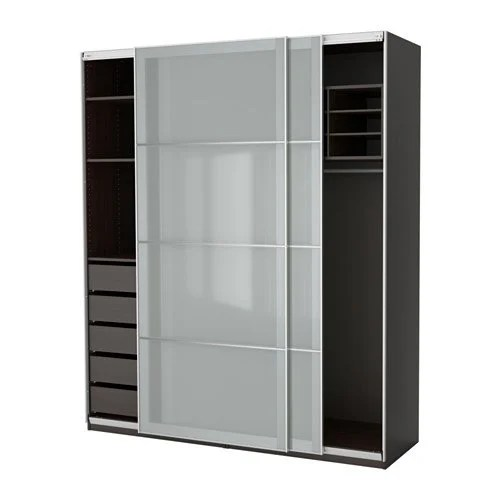 hackers help diy sliding doors for pax wardrobe ikea. Black Bedroom Furniture Sets. Home Design Ideas