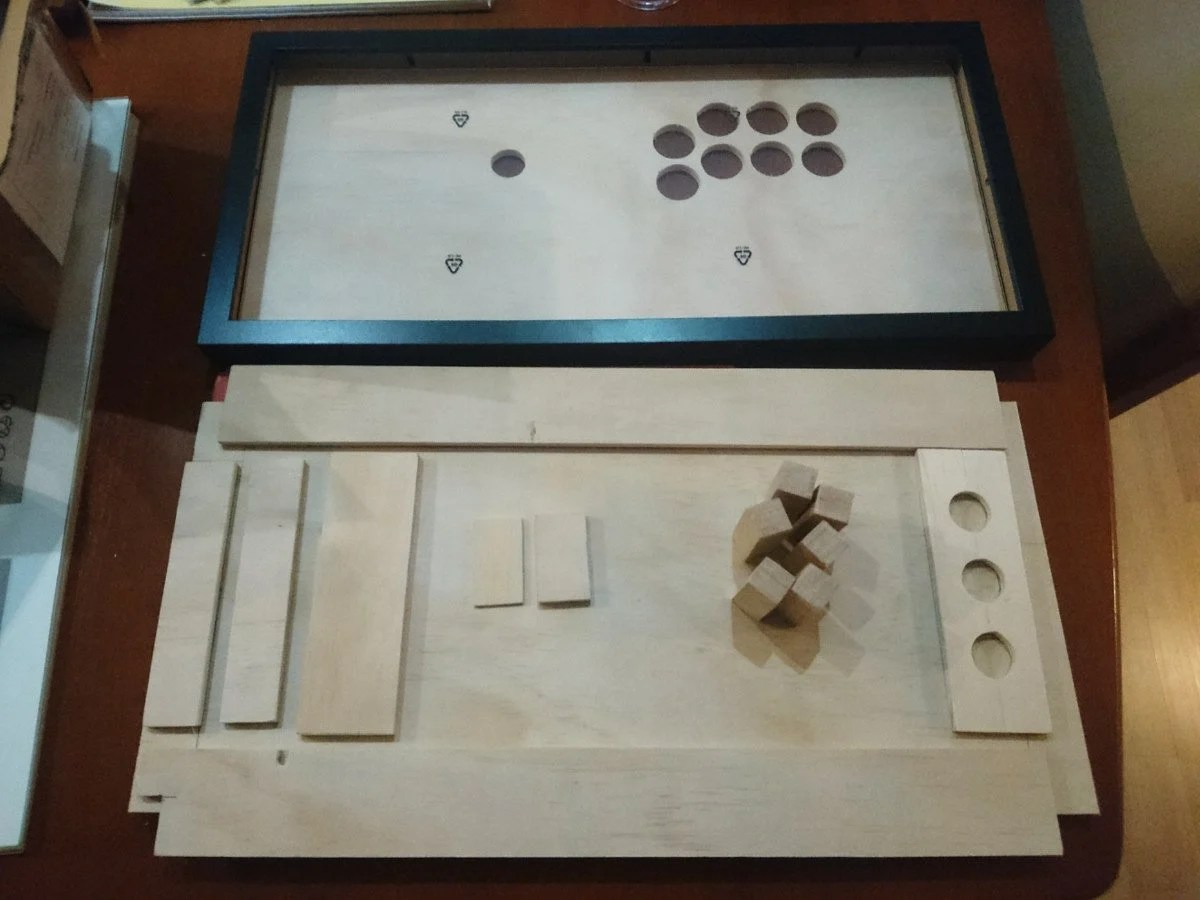 Fighting Frame Picture Frame Arcade Stick Ikea Hackers