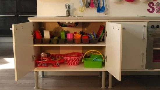 Little play kitchen for little chef