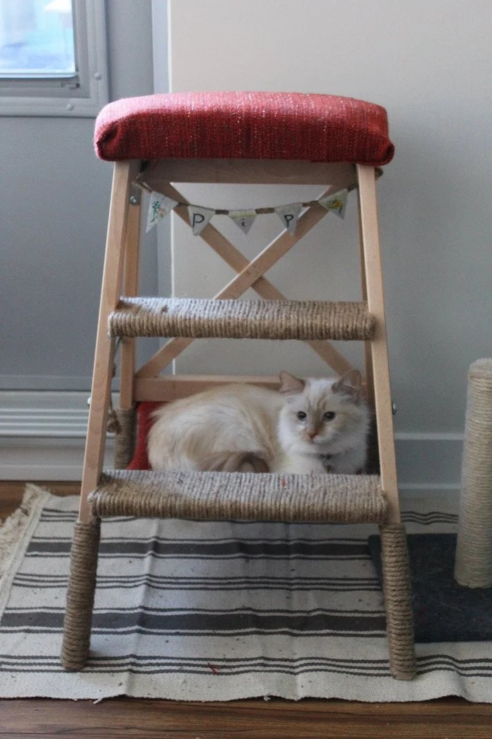 diy cat tree with hammock diy cat tree with hammock   ikea hackers  rh   ikeahackers