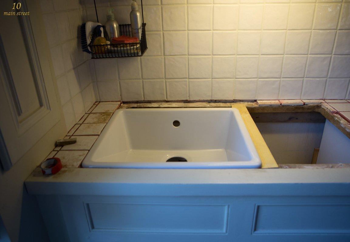 Undermount Single Bowl Ikea Domsj 246 Sink For A Vintage