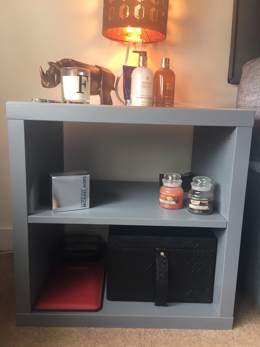 Corras Bedside Table Update Ikea Hackers