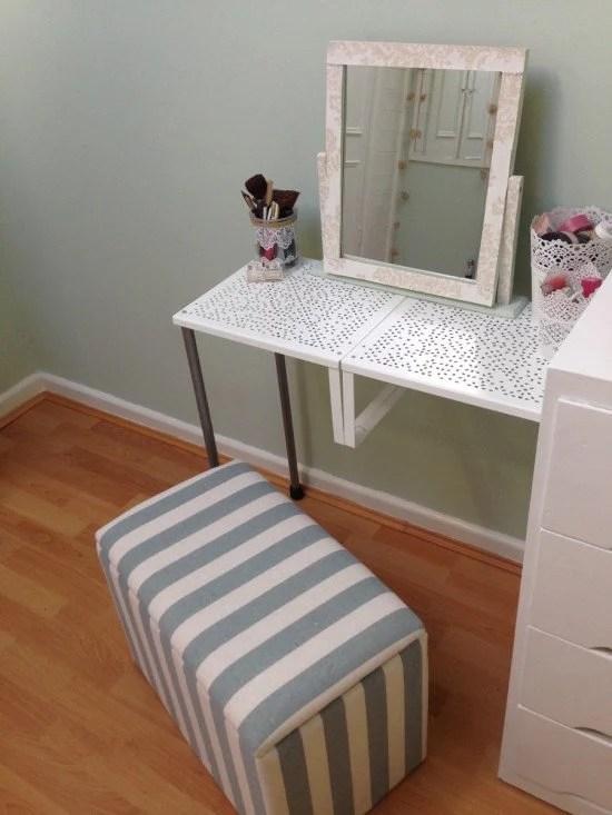 Variera DIY dressing table