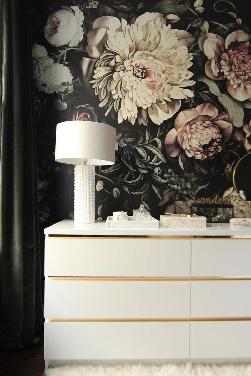 Malm Vintage Style Gold Dresser Ikea Hackers