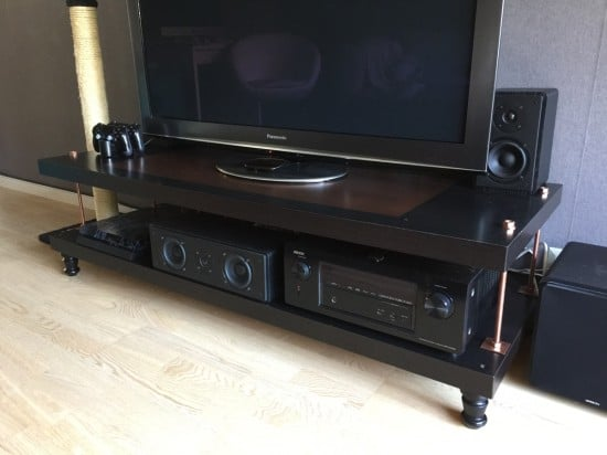 steampunk TV LACK rack-2