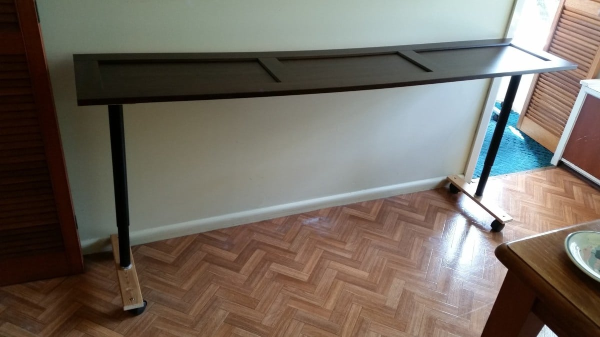 Olov Overbed Table Ikea Hackers