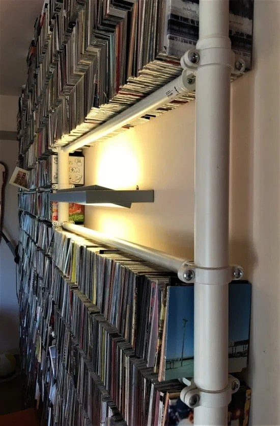 Stolmen as CD storage