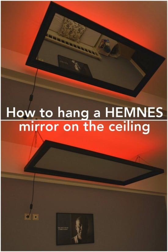 Above The Bed Hemnes Mirror Ikea Hackers