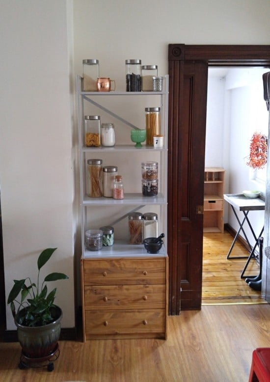 DRAGET+RAST= Tall Storage Display Unit