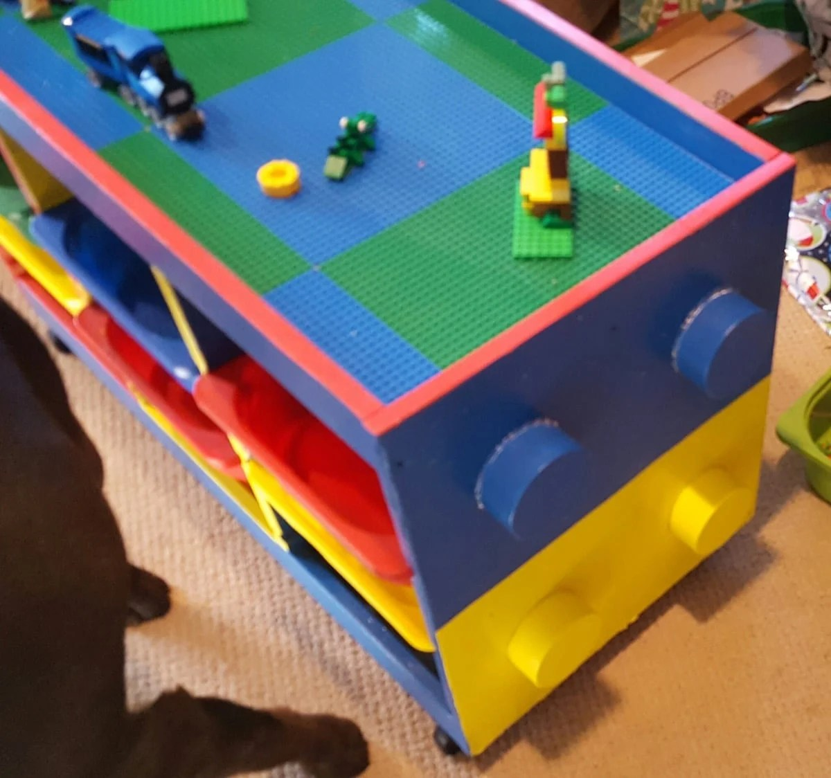 Trofast to LEGO table in one weekend - IKEA Hackers