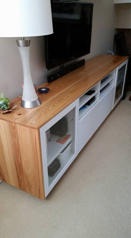 wood you like to give your ikea best tv unit a new look ikea hackers. Black Bedroom Furniture Sets. Home Design Ideas