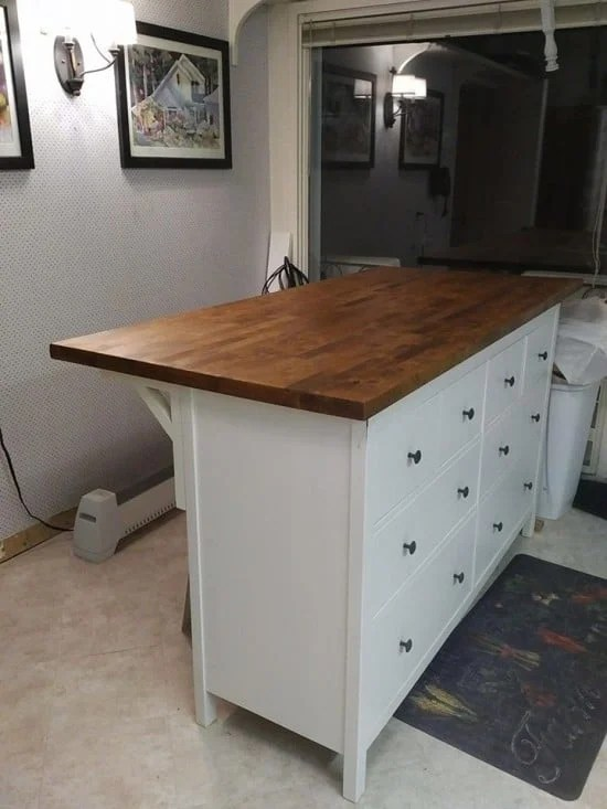 hemnes 8 drawer dresser instructions