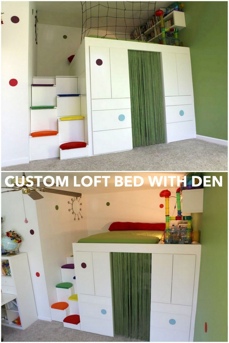 lofted bed bunk design by dollhouse themed tanglewood beds loft inners product