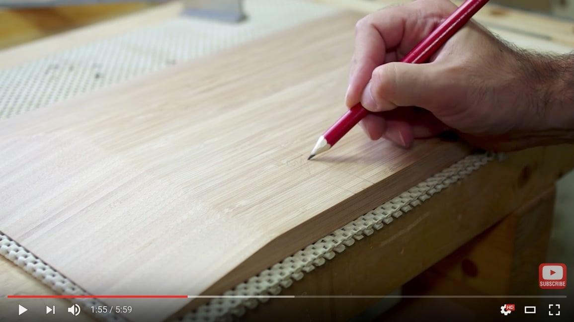 Bamboo Ikea Cutting Board Into Floating Nightstand Ikea