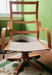 Swivel POÄNG chair frame