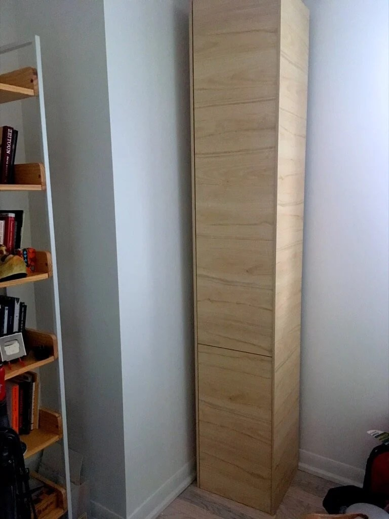 DIY Shoe cabinet tall and narrow for