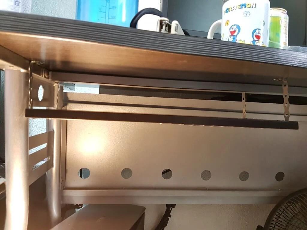 15 underdesk laptop shelf mount ikea hackers rh ikeahackers net Keyboard Shelf for Desk Portable Desk
