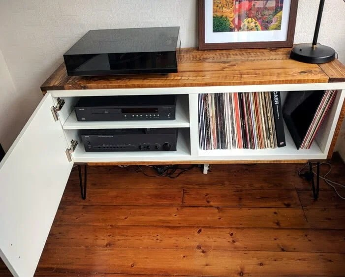 BESTÅ Record Player Stand   IKEA Hack