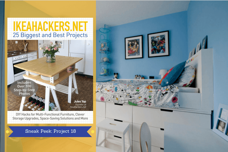 Cabin Bed IKEAhackers book sneak peek