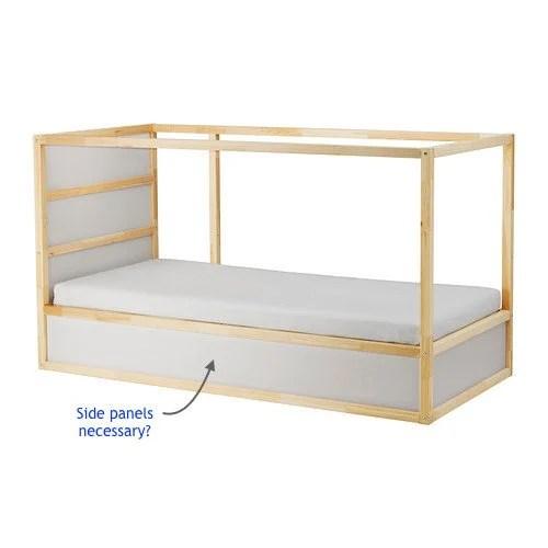 KURA bed storage