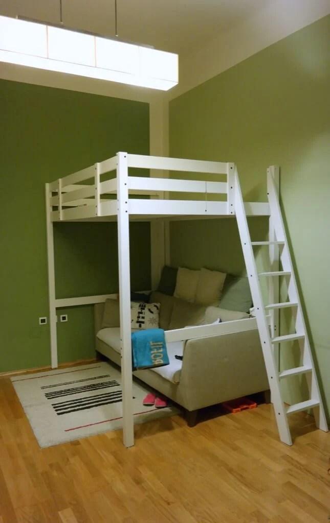 STOR Loft Bed To Loft Office IKEA Hackers IKEA Hackers