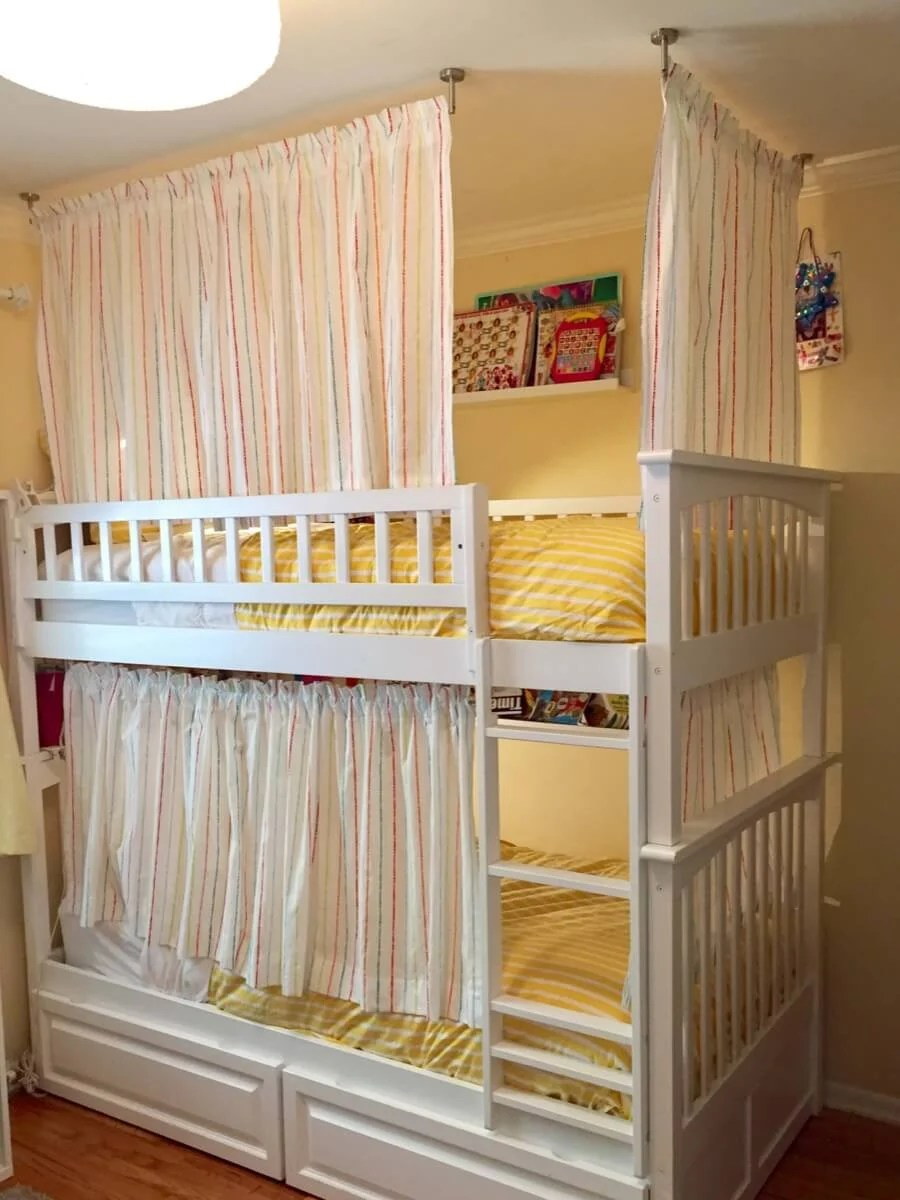 Lightweight And Breathable Bunk Bed Curtains