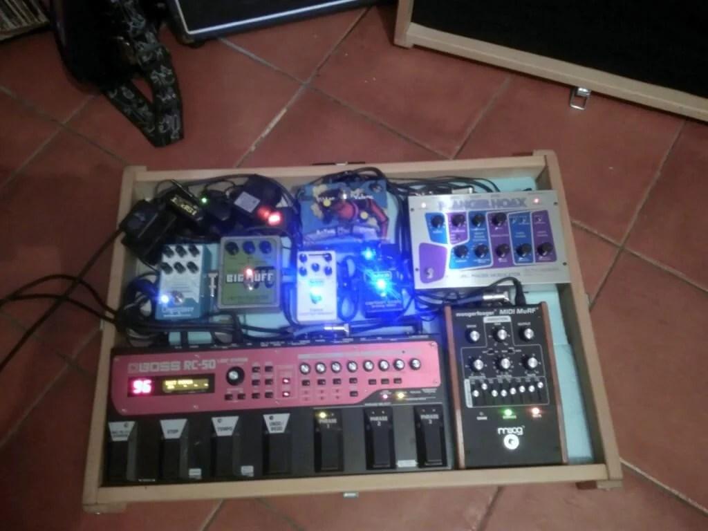 DIY custom pedal board case