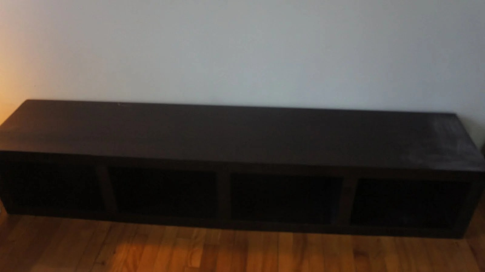 Ikea Lack Bookcase To Bench Ikea Hackers