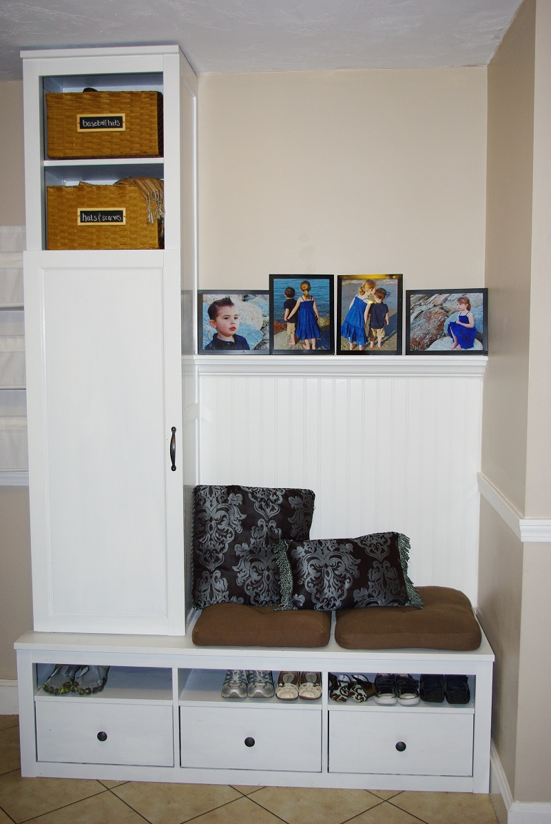 Diy mud room ikea hackers for Email ikea com