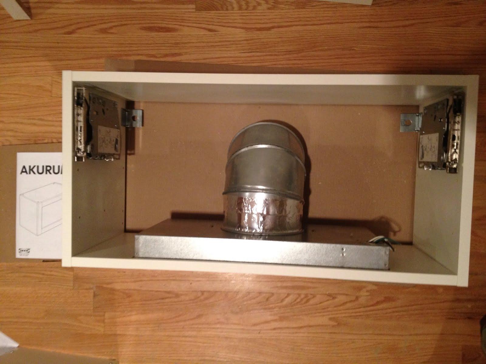 Horizontal vent hood, wine rack / bookshelf mash up - IKEA