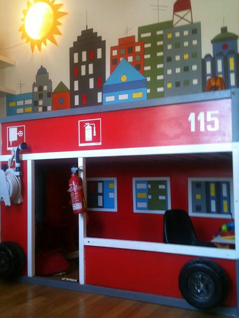 Kura Firetruck Ikea Hackers