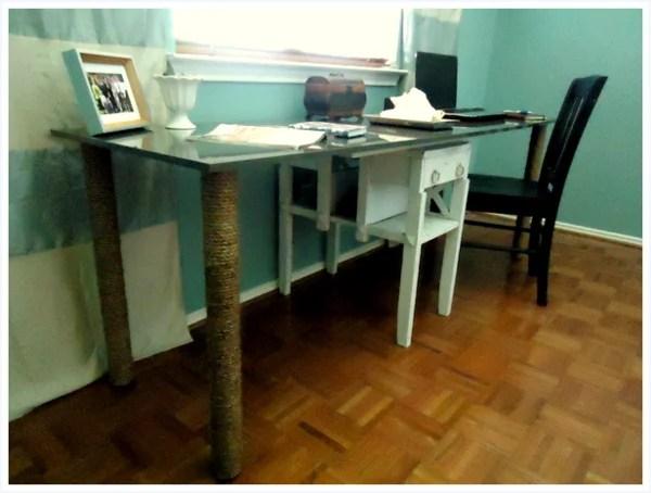 Materials: Akurum Cabinet Door And 4 Vika Adils Desk Legs