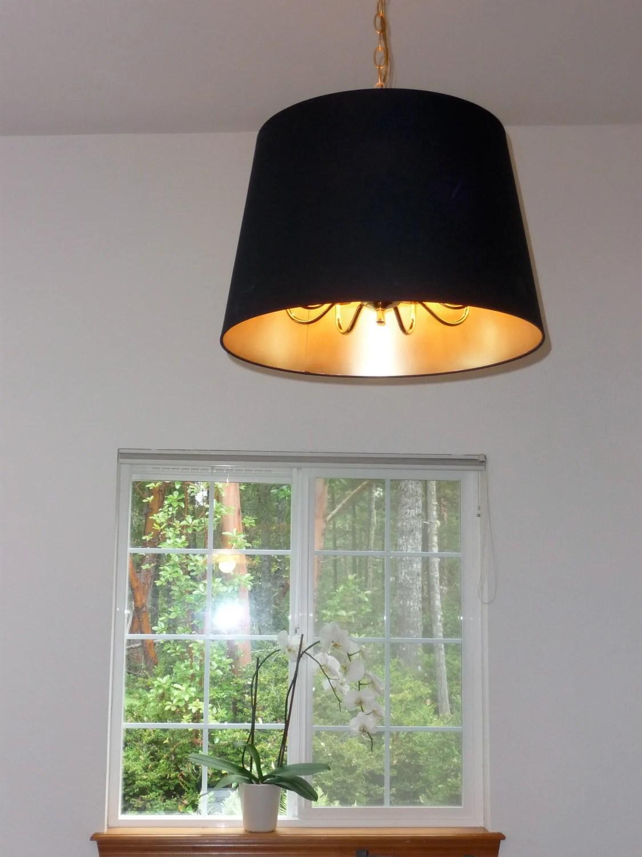 Jara Lamp Shade Over Hanging Ceiling Light Ikea Hackers