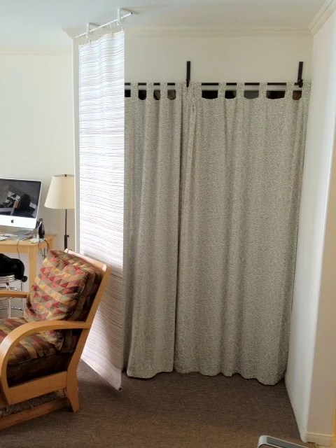 Curtain Panel Bluff And Room Divider Ikea Hackers