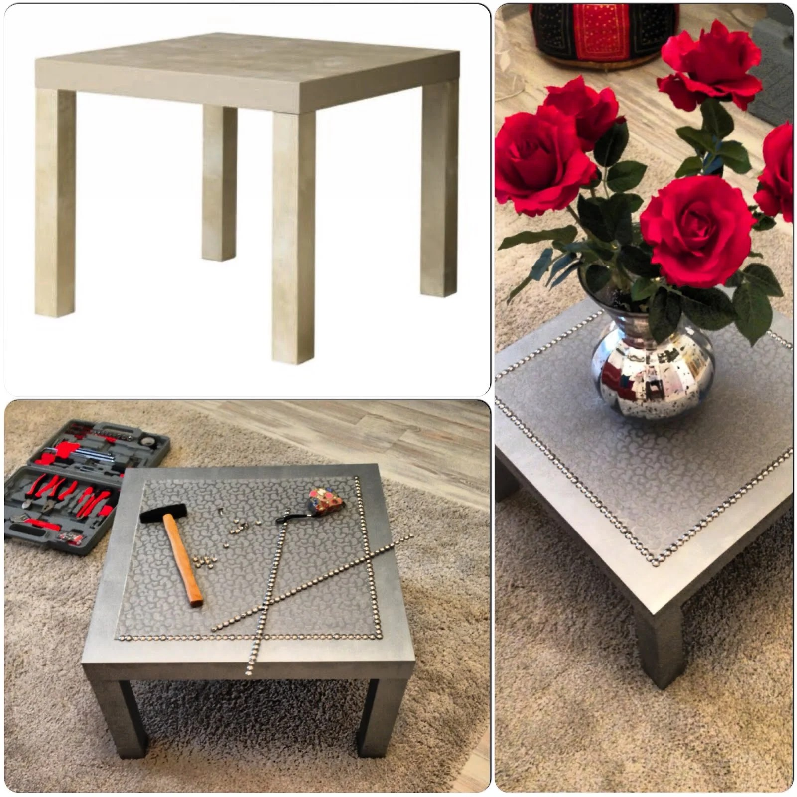 Ikea Lack Coffee Table Legs: Silver Coffee LACK Table