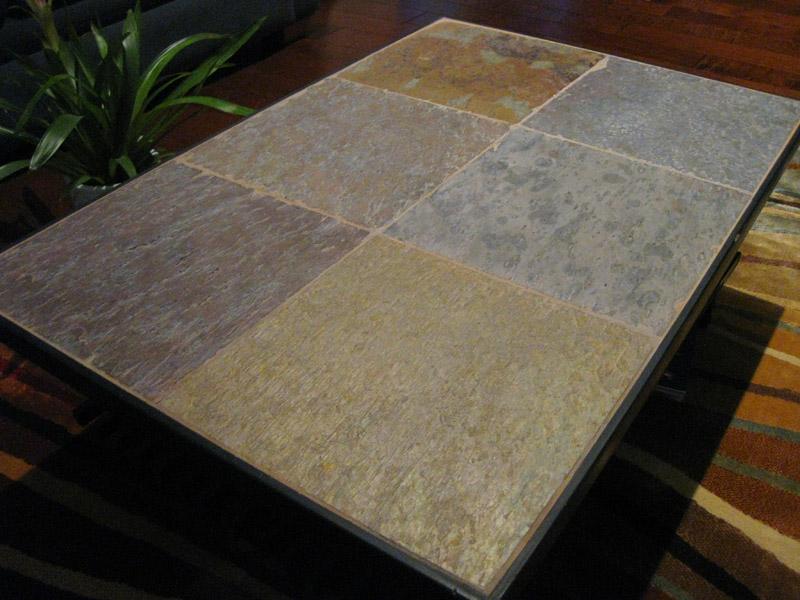 shoe racks into stone coffee table